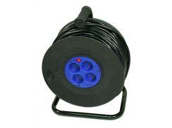 Удлинитель 220V 20м на катушке LogicPower (2*2.0mm медь)