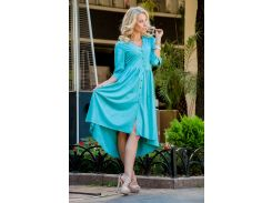 Платье V&V 2380 42 голубой