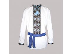 Рубашка Украинская вышиванка 106 цвет белый размер 4XL