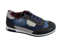 Детские текстильные кроссовки 73BIGJEANS 31 19,5 см Синий