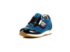 Кроссовки детские Foletti Kids FK-Brandy размер 31 сине-черная кожа