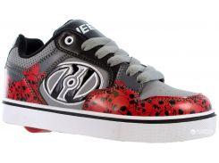 Роликовые кроссовки Heelys Motion Plus 770995-4 34 Черные с красным