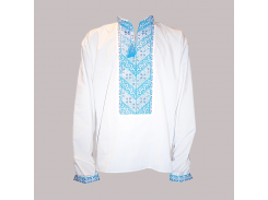 Рубашка Украинская вышиванка 184 цвет белый размер XL