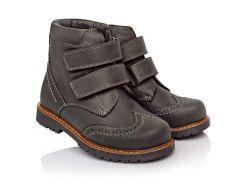 Ботинки Cezara Orthopedic 30 Темно-серые (584-0430)