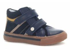 Ботинки кожанные Bartek 11812/SLM 19 Синий
