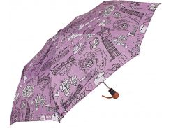 Зонт складной Airton Z3635-19 полуавтомат Фиолетовый