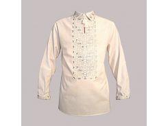 Рубашка Украинская вышиванка 534 цвет белый размер XL