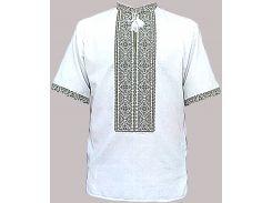 Рубашка Украинская вышиванка 1941 цвет белый размер XL/XXL