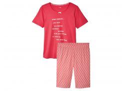 Пижама ESMARA IAN296439 XXL Розовый с белым