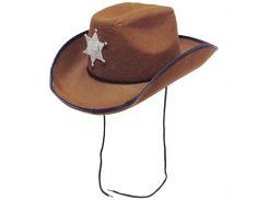 Шляпа Шериф SETA Decor 18-226BR