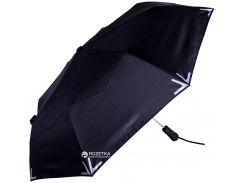 Зонт складной Fare 5571-2 полуавтомат Черный