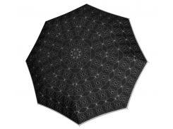 Женский зонт антиветер черный 744765 P02