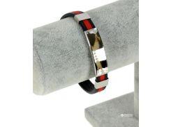 Браслет TRAUM 4227-86 Черный с красным