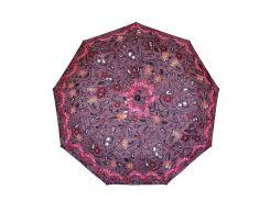 Зонт складной de esse 3215 полуавтомат Бордовый
