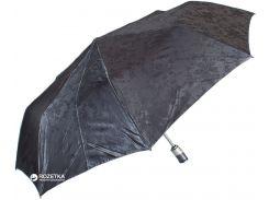 Зонт складной Zest Z23843-8 полный автомат Темно-серый с серебристым