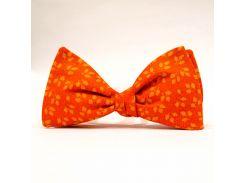 Галстук-бабочка KRAGO Autumn Touch Оранжевый (KRG-00503)