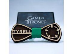 Эксклюзивный галстук-бабочка из дерева KRAGO Game of Thrones Tyrell (KRG-01002)