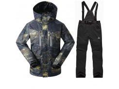 Горнолыжный костюм мужской куртка GsouSnow 15К, штаны Rossignol 10К M Multicolor VN1932M