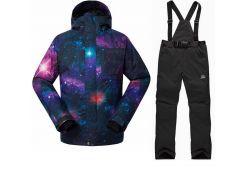 Костюм лыжный мужской куртка GsouSnow 10К, штаны Rossignol 10К S Multicolor VN1938S