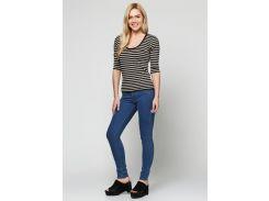 Женские джинсы Bershka голубые BER012-BU (36, Голубой)
