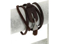 Браслет Traum 4223-18 Темно-коричневый