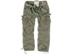 Брюки Surplus Premium Vintage Trousers Oliv Gewas S Хаки (05-3597-61-S)