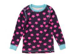 Кофта в розовые звезды (шерсть) Jako-o 128-134 см (9154)