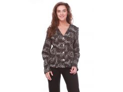 Жакет  UT KR245 1198 54 серый леопард
