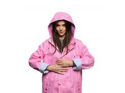 Дождевик женский Pink Woman short StaySee короткий L розовый