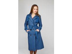 Пальто стеганное BENONI S синее (B-15BLUE)