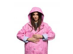 Дождевик женский Pink Woman short StaySee короткий S розовый