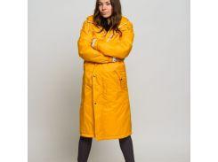 Женский дождевик Yellow woman long StaySee длинный желтый M