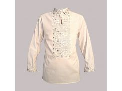 Рубашка Украинская вышиванка 534 цвет белый размер S/M