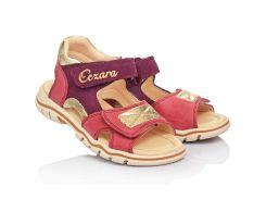 Босоножки Cezara Orthopedic для девочек 25 Розово-фиолетовые (305-0125)