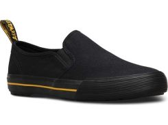 Мужские топ-сайдеры Dr. Martens Toomey Slip On Sneaker Black Canvas 45