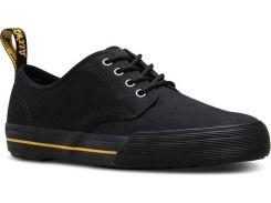 Мужские кроссовки Dr. Martens Pressler Sneaker Black Greasy Lamper/Mohawk New Synthetic 45