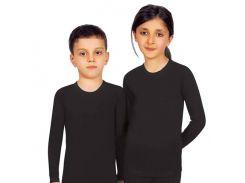 Термокофта детская Jiber черная 903 122-134см