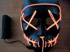 "Неоновая маска (LED mask) ""Фантом"" (2245)"