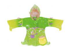 Плащ-дождевик Kidorable Фея 128-134 см зеленый