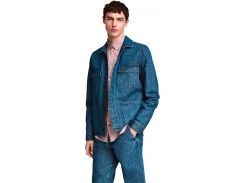 Джинсовая куртка H&M 4669705 S Синяя