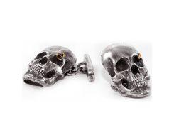 Серебряные запонки EJ Gregg & Baxter EJZ001