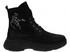 Ботинки Franzini 142 36 23 см Черные