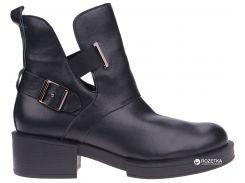 Ботинки Franzini 818-01-16 36 23 см Черные