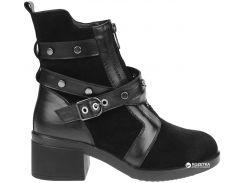 Ботинки Plezuro F888753AB black 37 Черные