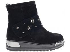 Ботинки Kento 3030 замша 40 (25.5 см) Черные