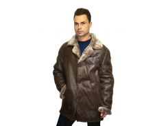 Дубленка мужская Oscar Fur 343 L Светло- коричневый