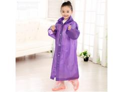Дождевик детский водонепроницаемый EVA Фиолетовый