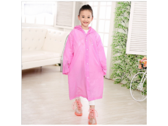 Дождевик детский водонепроницаемый EVA Розовый