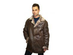 Дубленка мужская Oscar Fur 343 3XL Светло- коричневый