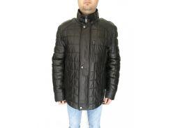 Дубленка мужская Oscar Fur 369 4XL Черная